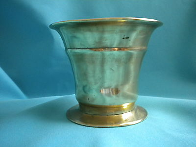Vintage Brass Mortar - Early 1900's