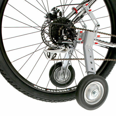 """Adjustable Adult And Kids Bicycle Bike Training Wheels Fits 24"""" to 28"""""""