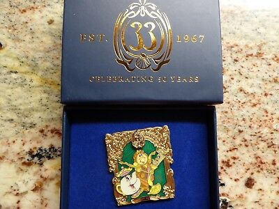 Club 33 Disneyland 50th Anniversary September Limited Edition Pin Beauty & Beast