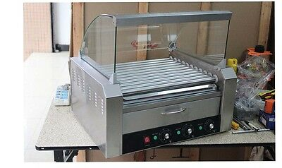 Commercial 11 Tube Stainless Steel Sausage Machine Hotdog Maker Full-Automatic *