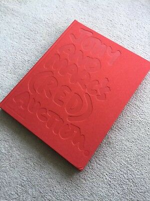 SOTHEBY'S Jony & Marc's (RED) Auction Large Catalog Mint Nov. 2013 Marc Newson