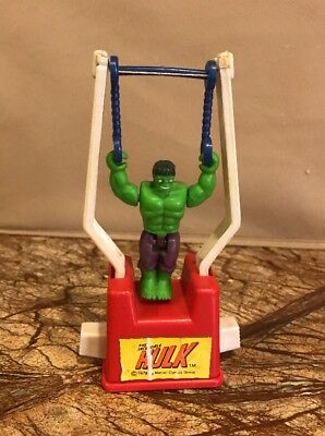 Vintage 1978 The Incredible Hulk Tricky Trapeze Toy