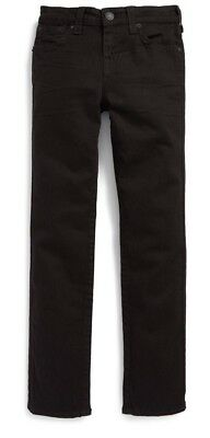 Youth Boys True Religion Superfly Geno Relaxed Slim Fit Jeans Black MSRP $79.00