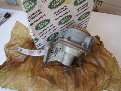 "R/Rover V8 Early Carby Model, Genuine (Manual Fuel-Pump) upto Suffix ""B"" model."