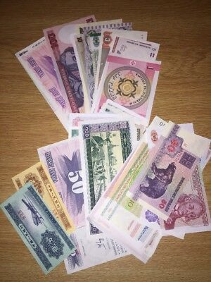 Uncirculated Foreign Currency