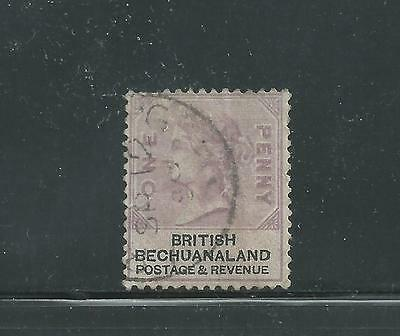 British Bechuanaland Scott # 11 Used