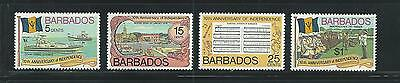 Barbados Scott # 448-451 MNH 10th Anniversary of Independence