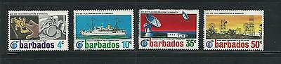 Barbados Scott # 368-371 MNH Telecommunications