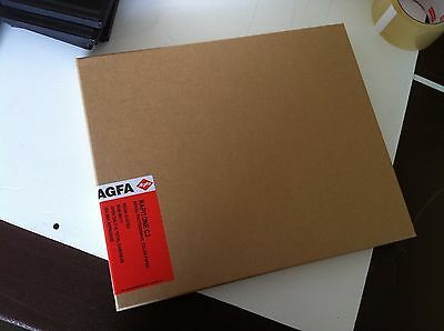 4 Packs / 1 Box of Agfa Rapitone C2 Photographic Color Paper 10x10x100