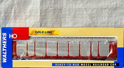 HO C9 Walthers GoldLine SOO Line Bi-Level Enclosed Auto Carrier Road # 516376