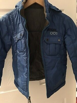 Boys Diesel Reversible Bomber Jacket Size Small