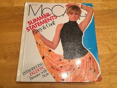 McCall's Patterns CATALOG July/Aug 1986 Brooke Shields large store counter book