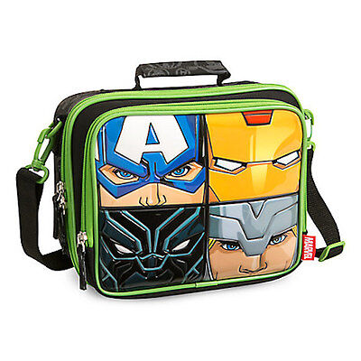 NWT Disney Store Marvel Avengers Lunch Tote Box Bag School