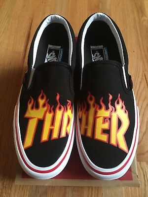 Vans Thrasher Slip-On Pro US 8.0 Limited Edition Flame Logo
