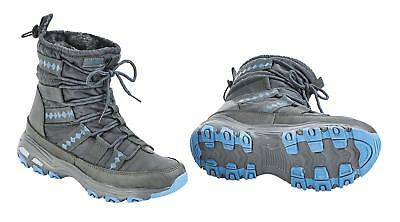 Busse Winter Shoes, Stall Shoe, Thermal Shoes Burnaby Grey Iceblue, Light, Warm