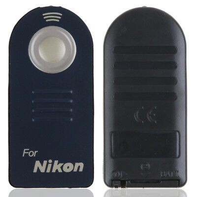 2x 5x IR Wireless Infrared Shutter Release Remote Control for Nikon DSLR Camera