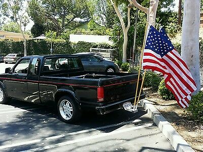 """Dual Flag poles ,and 2"""" receiver mount COMBO."""