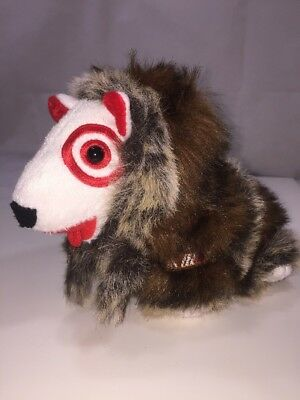 Bullseye Target Mascot 2008 Alaska Fur Coat 1st Edition Stuffed Plush Dog