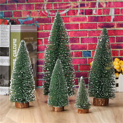 Mini Christmas Tree Festival Home Office Party Ornaments Xmas Decoration Gifts