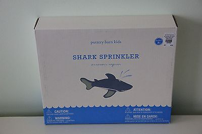 Pottery Barn Kids Shark Sprinkler Water Outdoors NIB SOLD OUT Christmas Gift