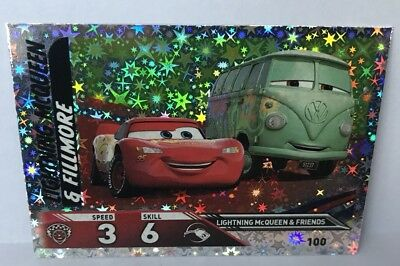 Disney Cars 3 TOPPS Trading Cards - 100