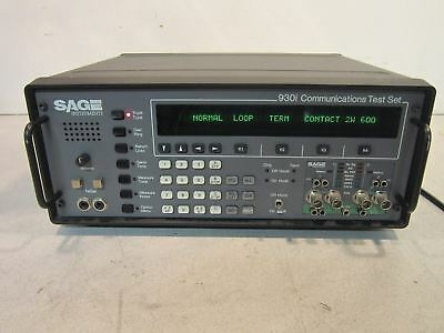 Sage 930i Communications Test Set
