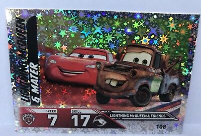 Disney Cars 3 TOPPS Trading Cards - 108