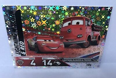 Disney Cars 3 TOPPS Trading Cards - 106