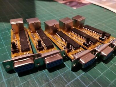 Commodore 64 PS/2 mouse to 1351 mouse adapter