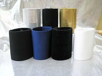 """Freestyle dance costumes -3, 4"""" or 6"""" pony tail cones black, gold, silver, white"""