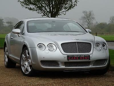 2004 Bentley Continental GT 6.0 W12 2dr Auto Petrol silver Automatic