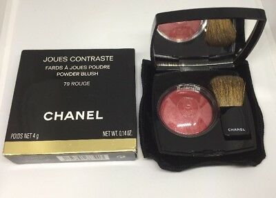 Chanel Joues Contraste Powder Blush Rouge Puderrouge 79 Rouge NEU OVP