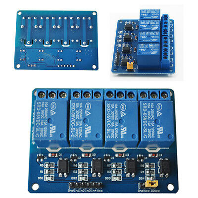 4 Channel 5V Relay Module Board Shield For PIC AVR DSP ARM MCU for Arduino