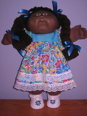 ****CABBAGE PATCH DOLL----Brown pigtails****