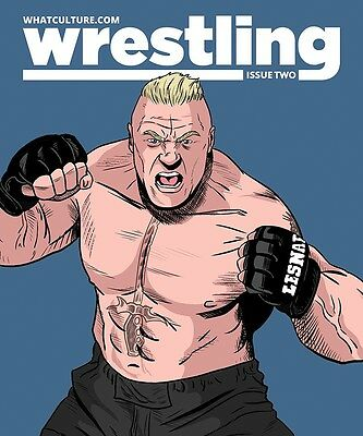 What Culture Wrestling Magazine Issue 2 - Brock Lesnar Cover WWE Articles WCPW