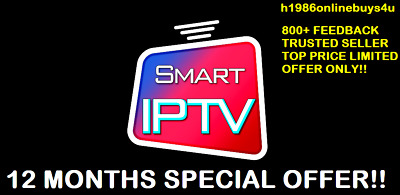 IPTV 12 Month Special Gift