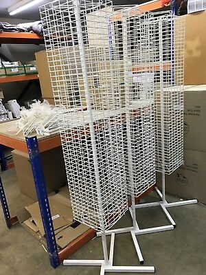 Retail Hanging Multi Purpose Floor Spinner Display Stand Shop X 3