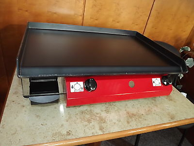 LPG Gas  Griddle Hot Plate Barbecue 65x40 cmLarge