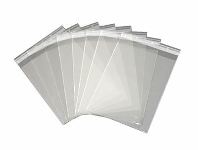 100 x  silver age comic bags AND boards self sealing strip.