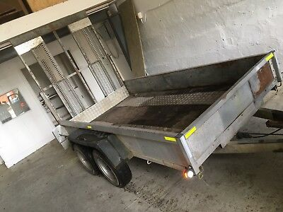Indespension Plant Trailer Used