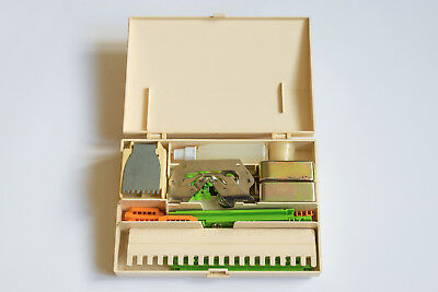 Brother Knitting Machine Accessory box and contents as listed