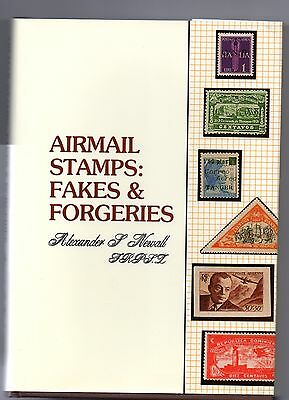 Book Airmail Stamps Fakes & Forgeries A F Newall  Publ £35