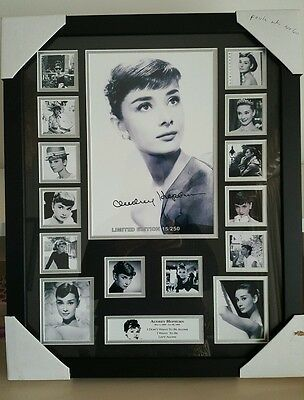 Audrey Hepburn Signed Limited Edition Framed Memorabilia