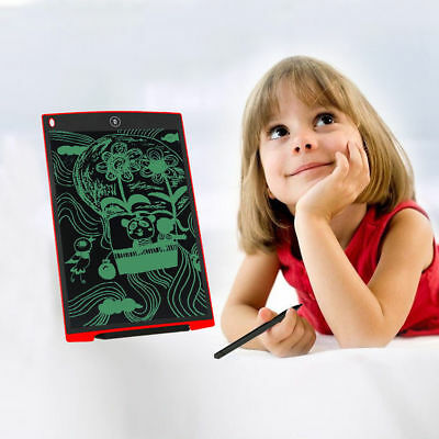 12'' LCD Paperless Writing Board Office School Tablet Drawing Graphics NotePad