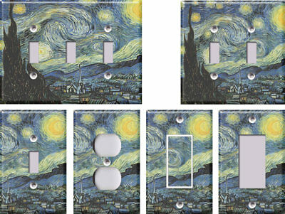 Starry Night (Van Gogh) - Light Switch Covers Home Decor Outlet