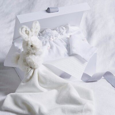 The Little White Company Baby's Sweet Pea Gift Set, Baby Gift Set - RRP: £40