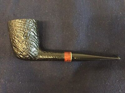 "highly collectible W.O. Larsen ""Double Black"" Estate Pfeife - pipe - pipa"