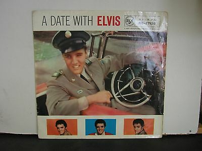 Elvis Presley:   A Date With Elvis     Rd-27128         Con Ex