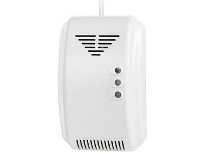 Carbon Monoxide CO And Gas Detector 2in1 Supply: 100-240 VAC 75 dB Cabletech