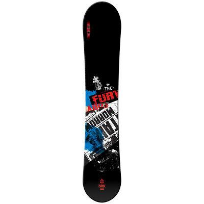 Snowboard Fury + Fixation Axiom Black